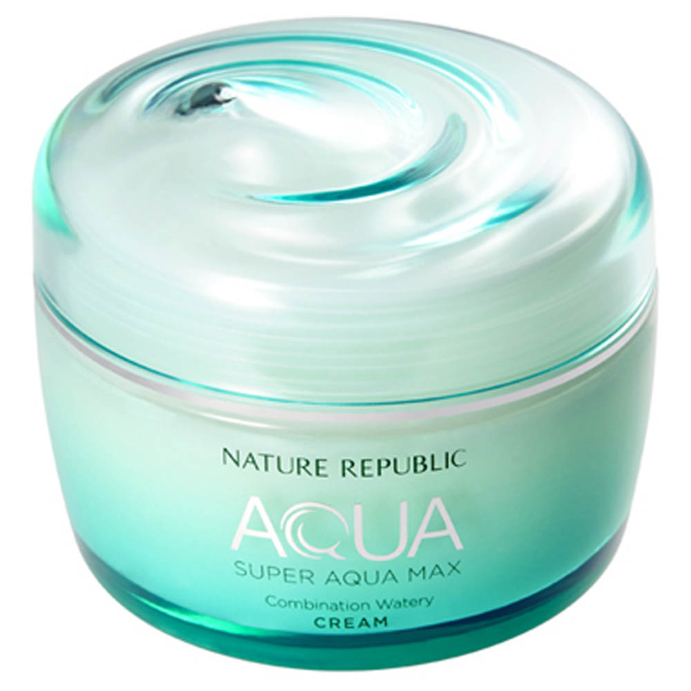 Nature Republic Super Aqua Max Combination Watery Cream 80ml (weight : 300g)