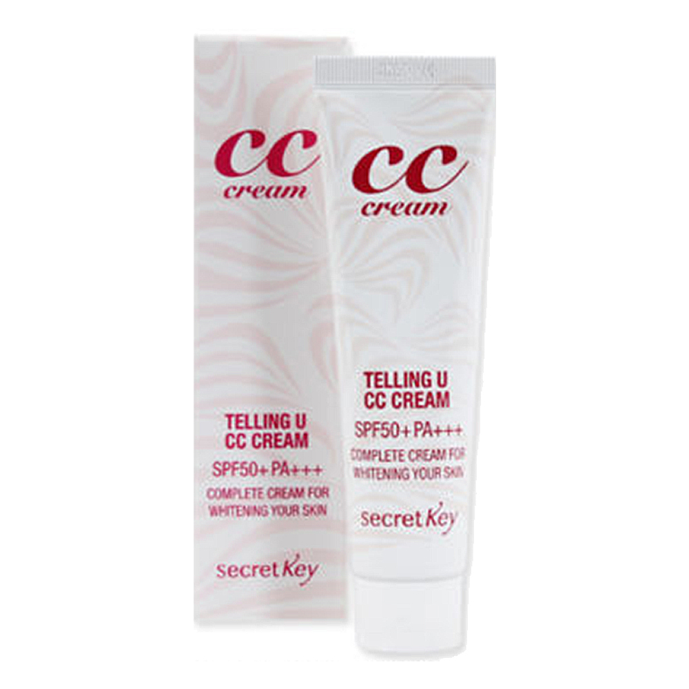 SECRETKEY Telling U CC Cream 30ml (weight : 80g)