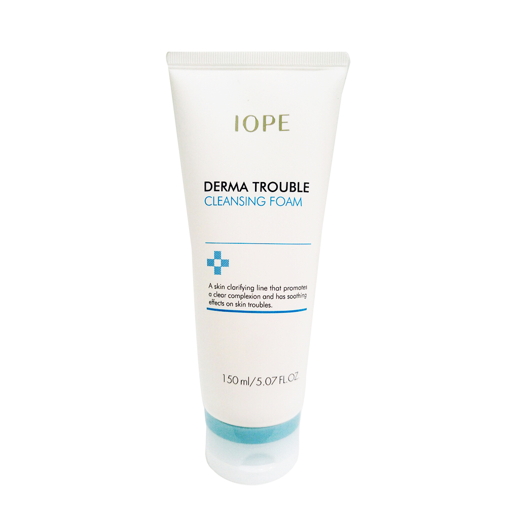 IOPE Derma Trouble Cleanser 150ml (weight : 270g)