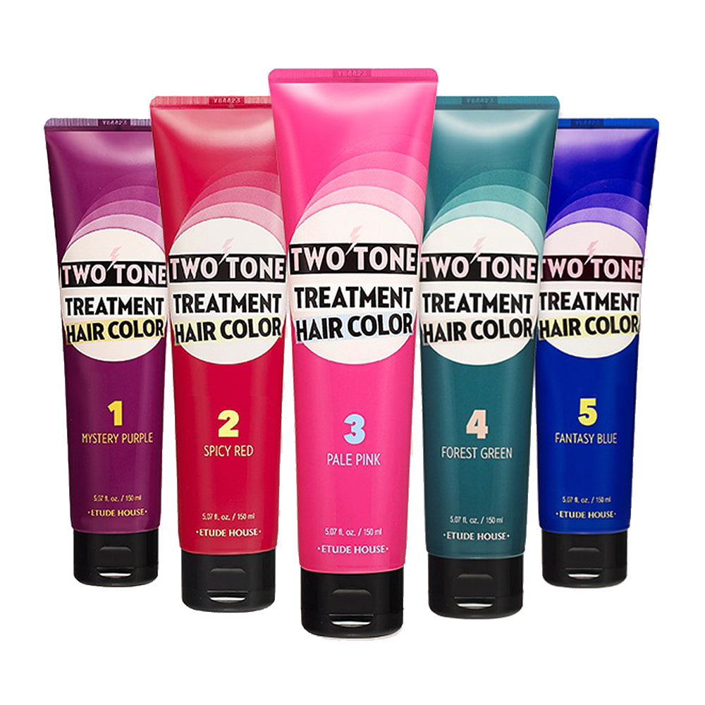 Etude House Two Tone Treatment Hair Color 150ml (weight : 200g)
