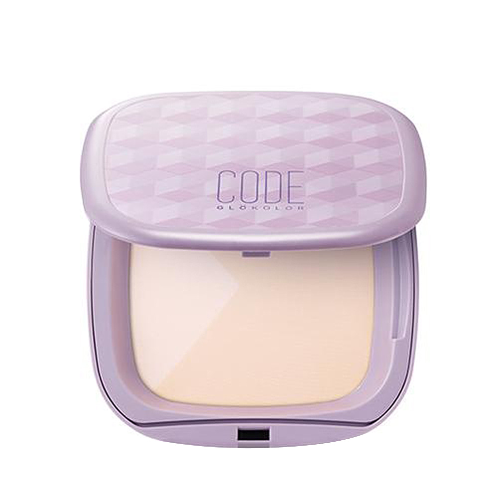 CODE GLOKOLOR P.UV Cube Pact 14g (weight : 120g)