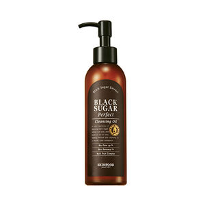 SKINFOOD-Skin Food Black Sugar Perfect Cleansing Oil 200ml (weight : 290g)
