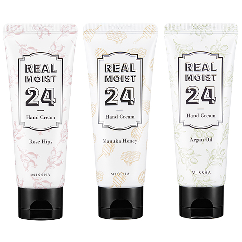 MISSHA Real Moist 24 Hand Cream 70ml