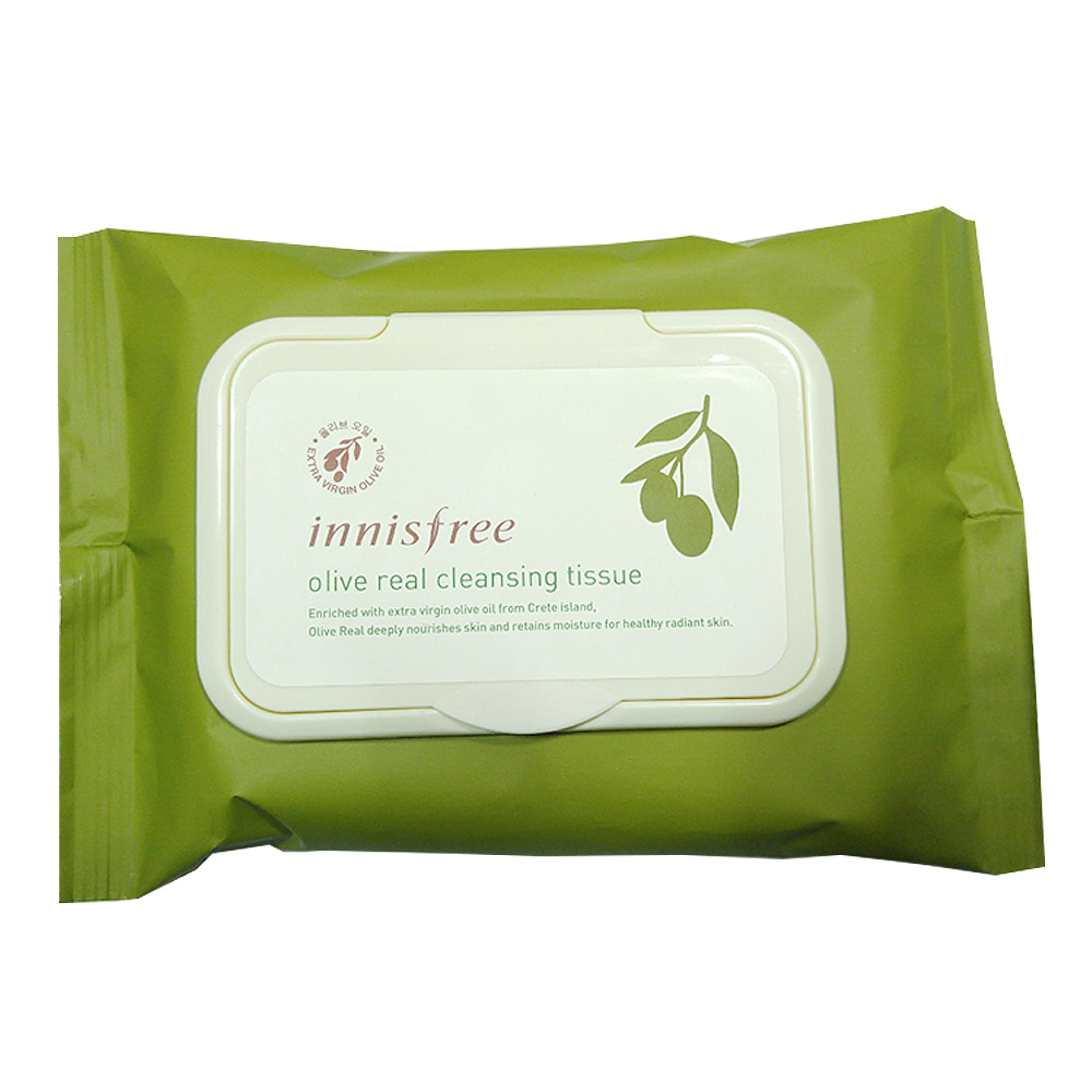 Innisfree Olive Real Cleansing Tissue 30ea