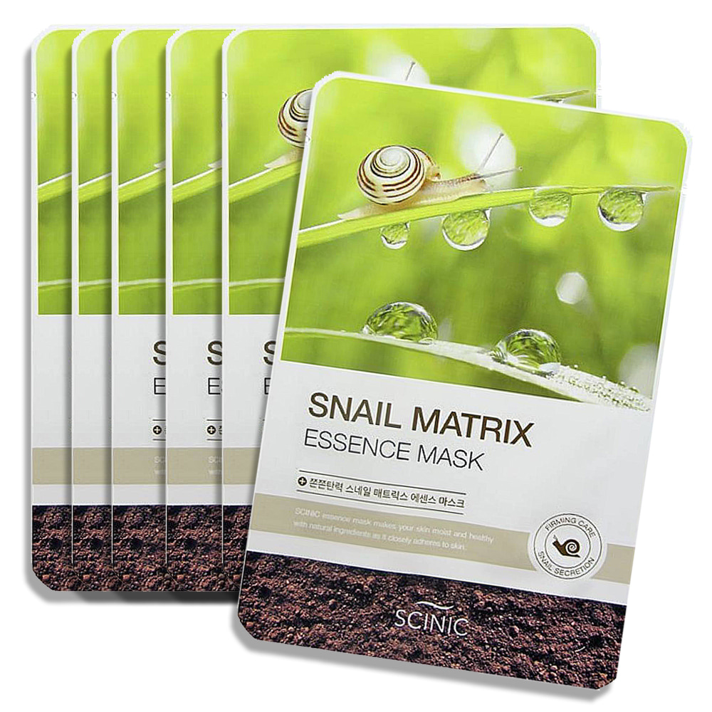 Scinic Snail Matrix Essence Mask 6pcs