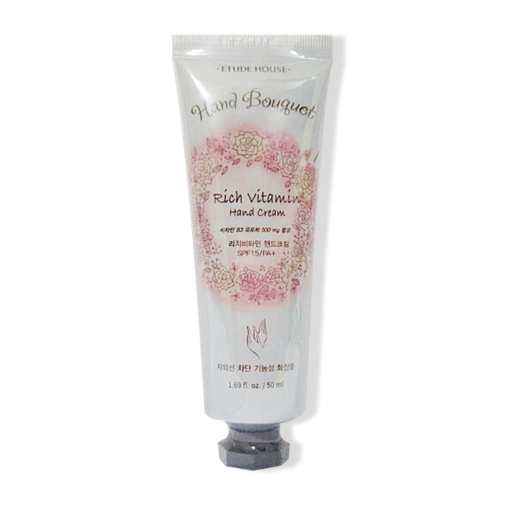 Etude House Hand Bouquet Rich Vitamin Hand Cream 50ml