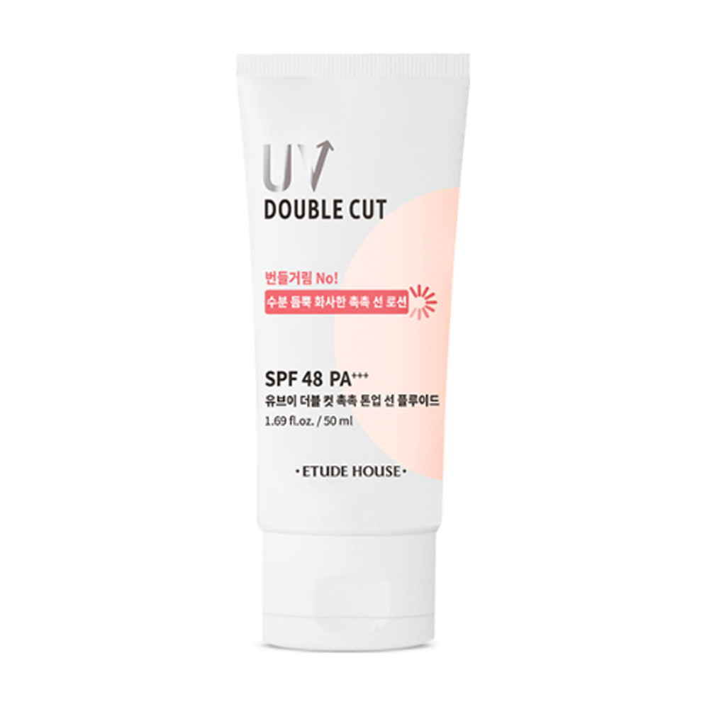 Etude House UV Double Cut Moisture Tone Up Sun Fluid SPF48/PA+++ 50ml