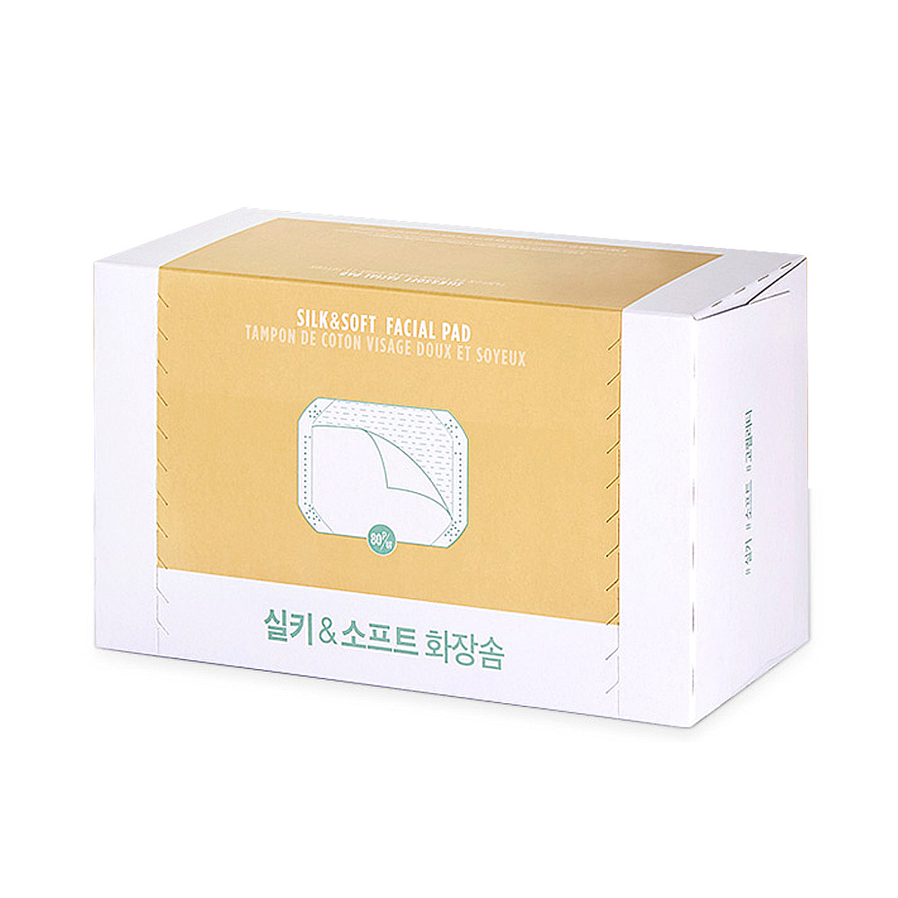 THE FACE SHOP Daily silky & Soft Cotton Pads 80sheets